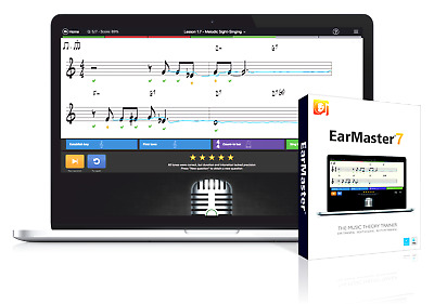 New EarMaster ApS EarMaster 7 Pro, Ear Training & Music Theory, Mac/PC EDelivery • 40.90£