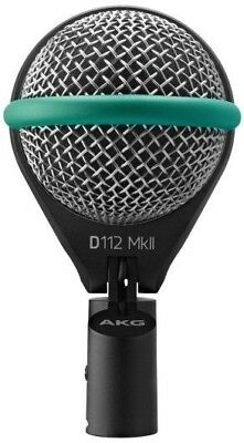 AKG D112 MkII Professional Dynamic Bass Drum Microphone • 161.72£