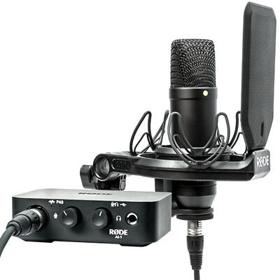 Rode NT1AI1-KIT Studio Kit NT1 Microphone+AI1 Interface • 312.71£