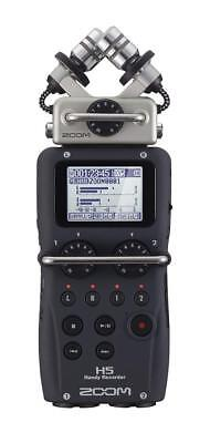 Zoom H5 Black Handy PCM Field Recorder EMS w/ Tracking NEW