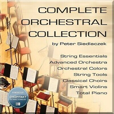New Best Service Complete Orchestral Collection Peter Siedlaczek Win Mac Kontakt • 145.31£