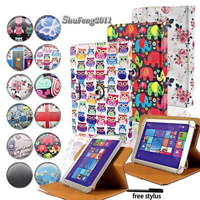 Leather Flip Rotating Stand Cover Case For Various Toshiba Encore/Excite Tablet • 4.99£
