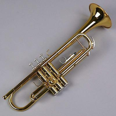 YAMAHA Bb Standard Trumpet YTR-3335 With Case EMS W/ Tracking NEW • 666.89£