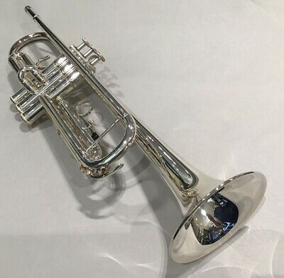 YAMAHA Bb Standard Trumpet YTR-3335S Silver-Plated With Hard Case EMS W/T • 825.52£