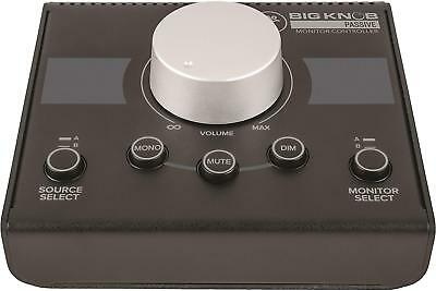 MACKIE Japan Genuine Big Knob Passive Monitor Speaker Controller W/ Tracking NEW • 72.60£