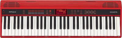 Roland 61 Key Keyboard GO: KEYS GO-61K From JAPAN EMS W/ Tracking NEW • 372.05£