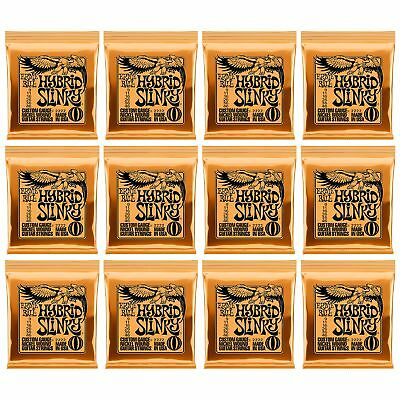 12 Sets Ernie Ball 2222 Hybrid Slinky Nickel Wound Electric Guitar Strings(9-46) • 36.20£