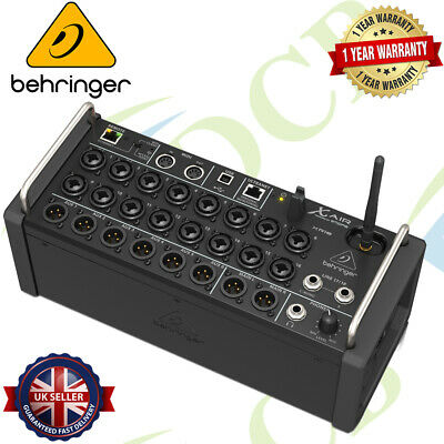 Behringer X AIR XR18 18-Channel 12-Bus Digital Mixer For IPad/Android Tablets • 770.12£