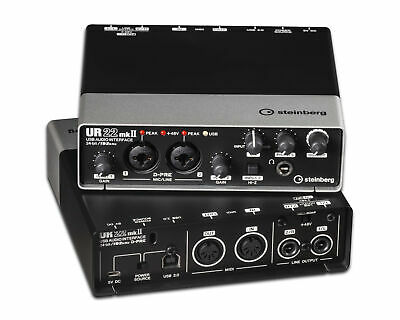 Steinberg UR22 MK2 Two-Channel USB Audio Interface • 117.93£