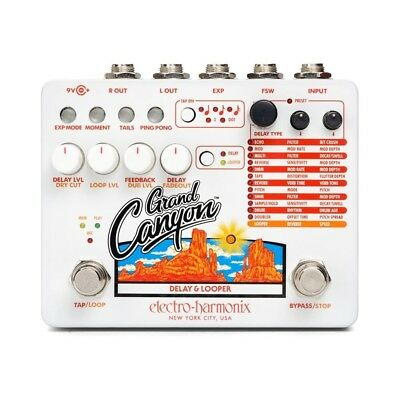 ELECTRO HARMONIX Grand Canyon DELAY AND LOOPER - Effect Pedal