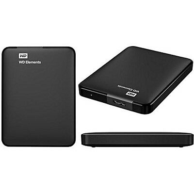 WD 1TB Elements Portable External Hard Drive USB 3.0 PC Xbox One Play Station 4 • 50.93£