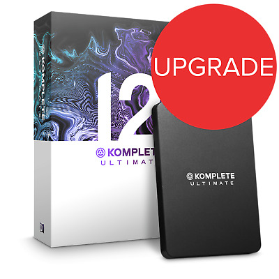 Native Instruments Komplete 12 Ultimate UPG From K-Select (Boxed) • 729£
