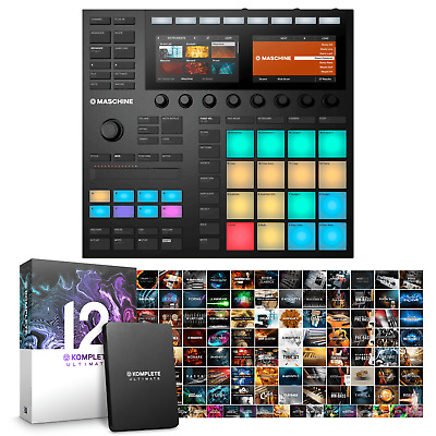 Native Instruments Maschine MK3 & Komplete 12 ULTIMATE Bundle • 1,239£