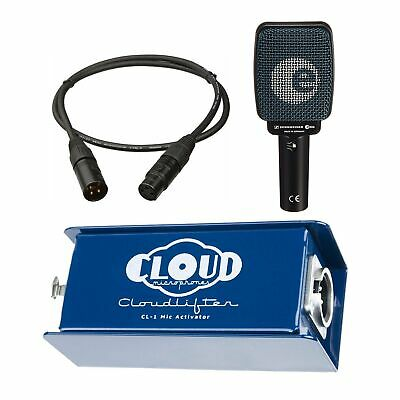Cloud Microphones CL-1 Cloudlifter Bundle With Sennheiser E906 And Mogami Cable • 191.08£