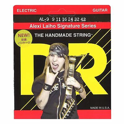 DR Strings Alexi Laiho Signature Electric Guitar Strings - Lite • 8.68£