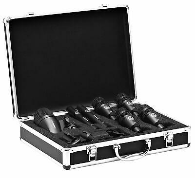 AKG DRUM SET SESSION I Microphone For Drum 7pcs Set EMS W/ Tracking NEW • 253.18£