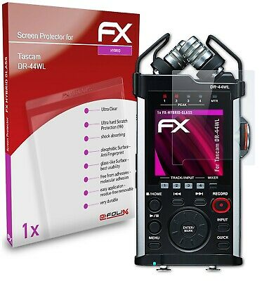 AtFoliX Glass Protective Film For Tascam DR-44WL Glass Protector 9H Hybrid-Glass • 5.89£