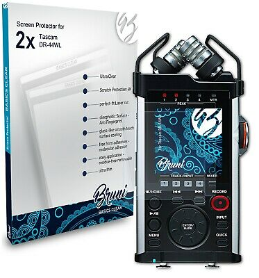 Bruni 2x Protective Film For Tascam DR-44WL Screen Protector Screen Protection • 4.39£