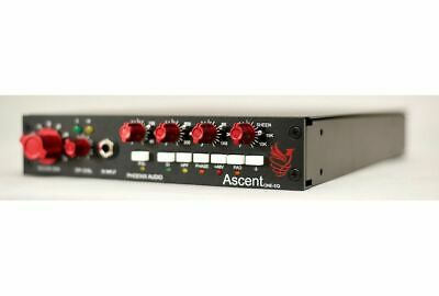 Phoenix Audio Ascent One EQ - Mono Class-A Microphone Pre-Amplifier/DI/EQ • 1,223.12£
