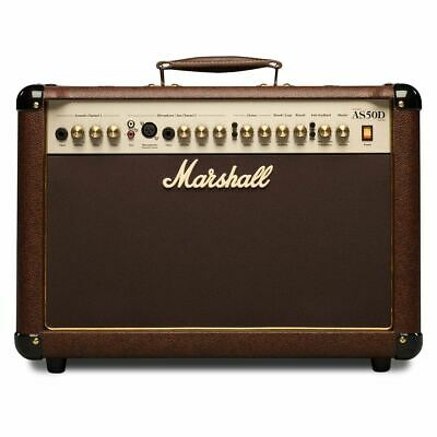 Marshall AS50D 50W 2x8  Acoustic Soloist Combo With Digital Chorus & Reverb • 299£