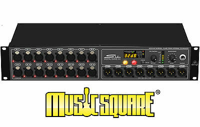 BEHRINGER S16 DIGITAL SNAKE I/O BOX WITH 16 REMOTE-CONTROL MIC PRE's 1 OWNER! • 460.68£