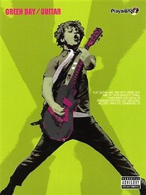 Green Day Playalong Guitar Songbook & CD