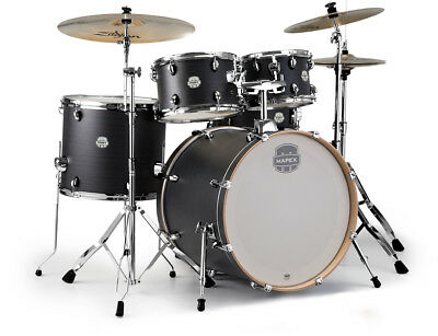 Mapex Storm Rock 5-Piece Drum Set - Ebony Blue Grain (Cymbals Not Included) • 545£