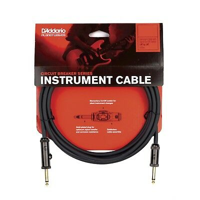 Planet Waves By D'Addario Circuit Breaker Instrument Cable 30' Momentary Cut-Off • 36.95£
