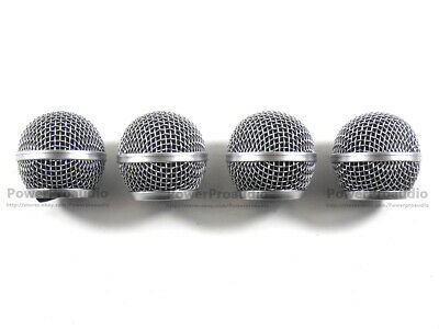 4 X Ball Head Mesh Microphone Grille For Shure SM58 SM58S SM58LC BETA58  • 12.18£