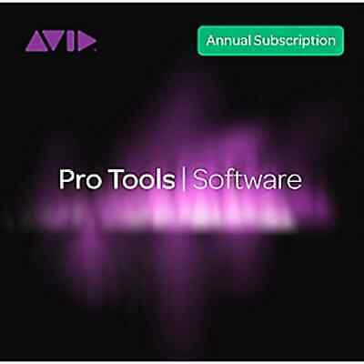 Avid Pro Tools 2018.12 Annual Subscription Educational (Boxed) • 95£