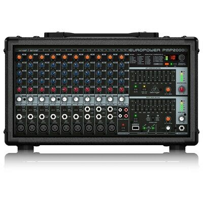 Behringer PMP2000D 2000-Watt 14-Channel Powered M • 367.98£