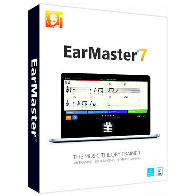 Earmaster 7 Interactive Musiktheorie-Training And Gehörbildungs-software • 52.70£