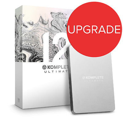 Native Instruments Komplete 12 ULT Collector's Edition UPG From K8-12 (Boxed) • 750£