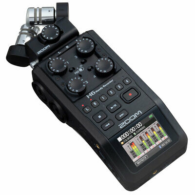 Zoom H6 Portable Recorder Dictaphone • 391.04£