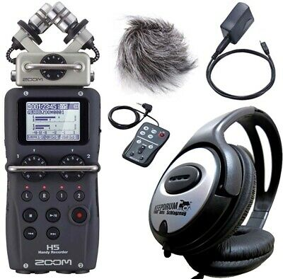 Zoom H5 Mobile Phone Recorder +APH-5 Accessory Set + Keepdrum Headphones • 342.26£