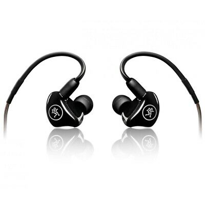 MACKIE MP-240 IEM Dual Hybrid Driver Personal Monitors With Tips And Case • 141.51£