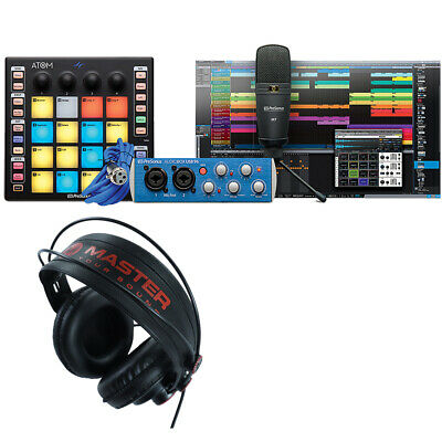Presonus Atom Producer Lab With Microphone & Master PRO10 Studio Headphones • 269.15£