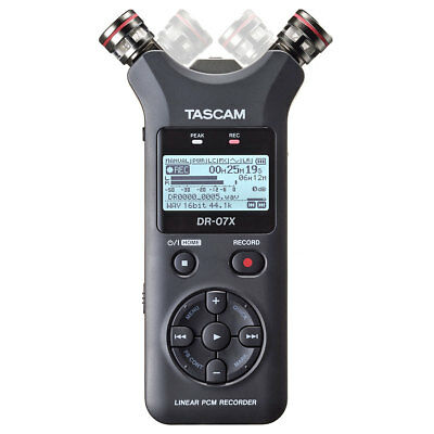 Tascam DR-07X Stereo Recorder Dictaphone With Interface-Funktion • 143.77£