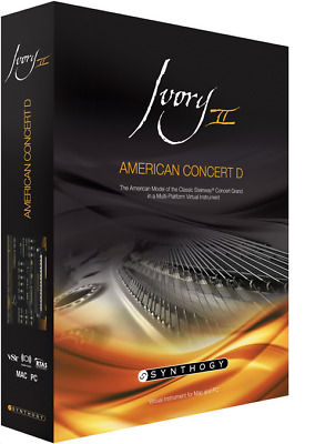 Synthogy Ivory II American Concert D • 144.44£