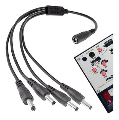 Shock Electronix Se350 4-way Power Cable For 9v Korg Volca Bass Key Sample Beat • 11.13£