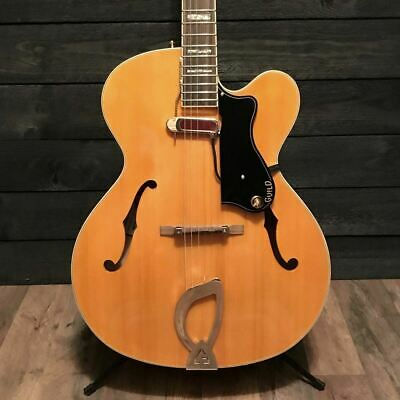 Guild A-150B Savoy Hollowbody Archtop Blonde Electric Guitar • 651.52£