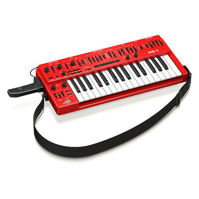 Behringer MS-1 Analog Synthesizer - Red • 214.34£