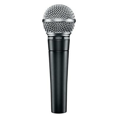Shure SM58 LC Vocal Microphone Dynamic Cardioid Pattern • 75.34£