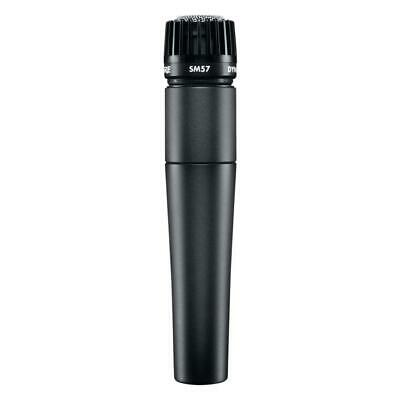 Shure SM57 LC Instrument Microphone Dynamic Cardioid Pattern • 74.03£