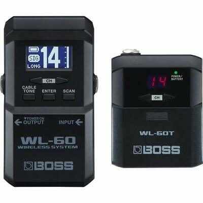 BOSS WL-60 Guitar Wireless System With WL-60T Transmitter Guitar Effects Pedal • 231.93£
