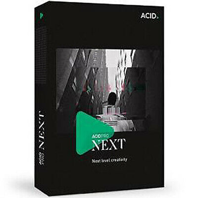 NEW Magix Acid Pro Next Digital Audio Workstation + Zynaptiq Stem Maker Audio • 291£
