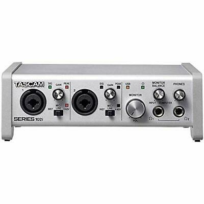 TASCAM SERIES 102i USB Audio MIDI Interface EMS W/ Tracking NEW • 257.91£