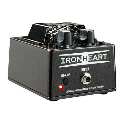 Laney Iron Heart IRT-Pulse Tube Pre-Amp & USB Interface For Guitar Players • 268.31£