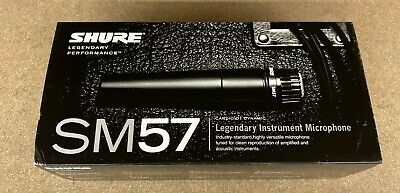 Shure SM57-LC Dynamic Cardioid Instrument Professional Microphone • 59.19£
