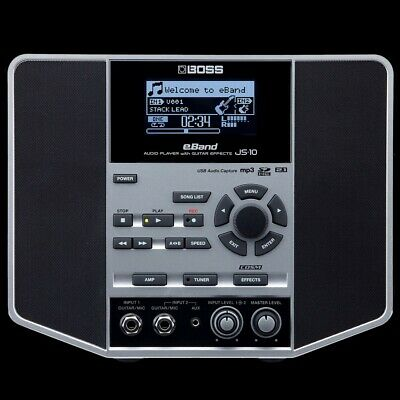 Boss EBand JS-10: Audio Player/Recorder With Guitar Effects • 382£